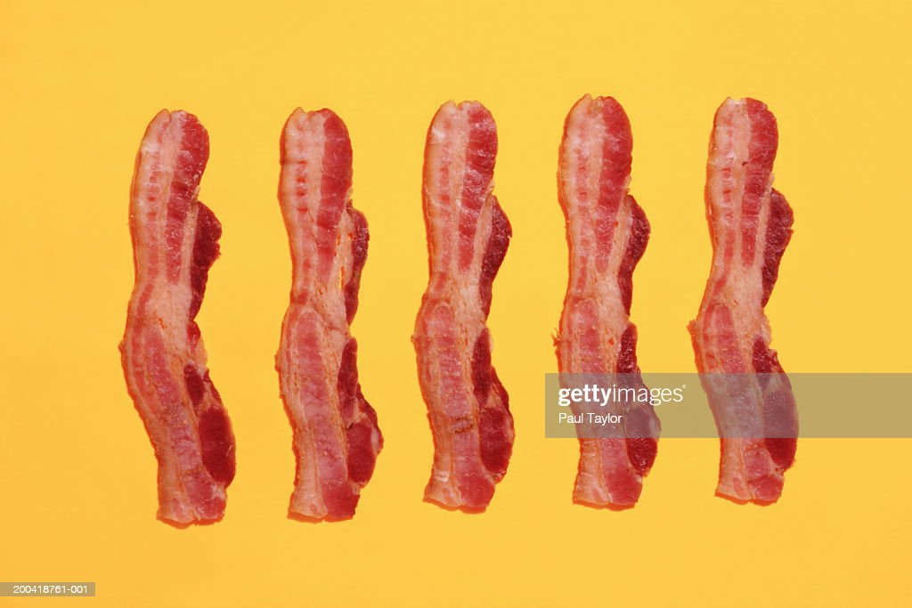 Strips of bacon : Stock Photo