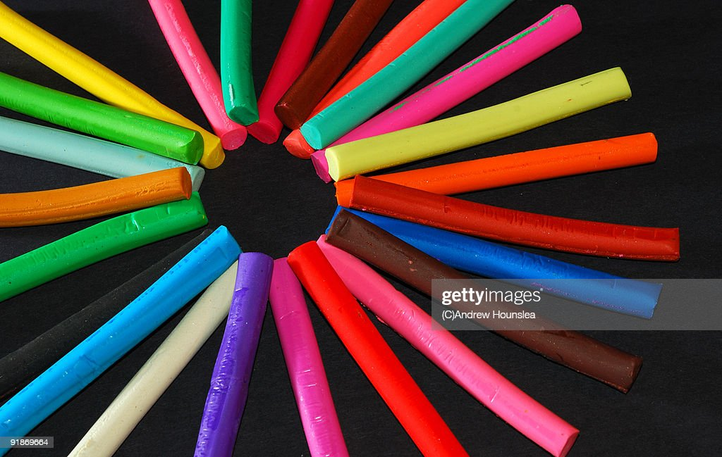 Strips of coloured  : Stock Photo
