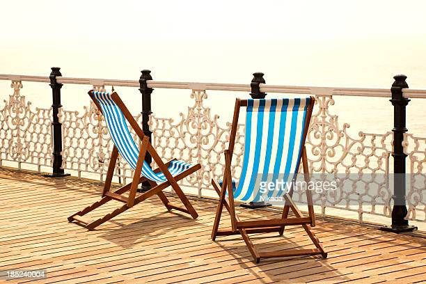 stripy chairs