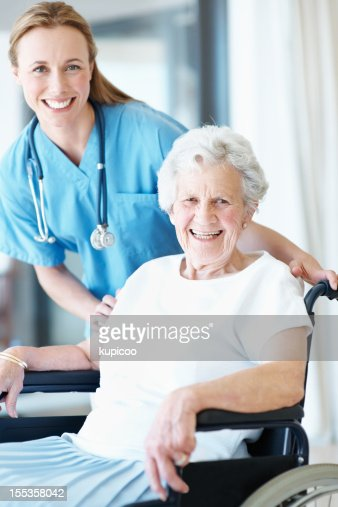 I strive to provide excellent healthcare : Stock Photo