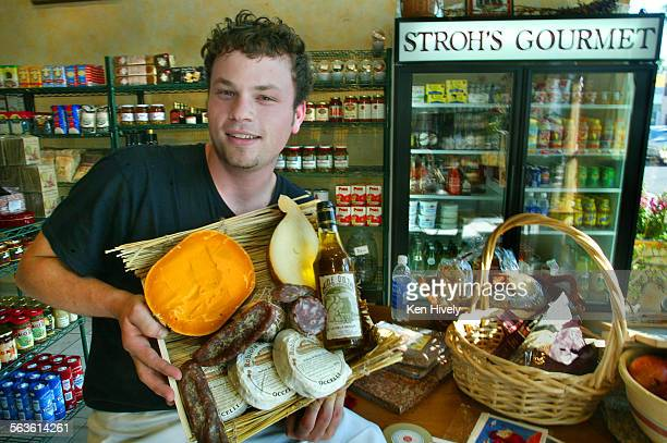 Stroh's Gourmet is a new gourmet grocery in venice with teffific soups and take–out sandwiches plus a very astute selection of really good cheeses...