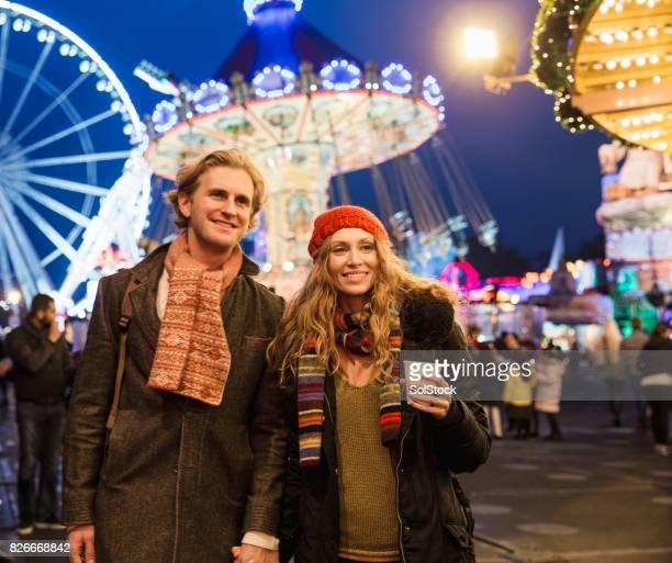 Slenteren door de Christmas Fair