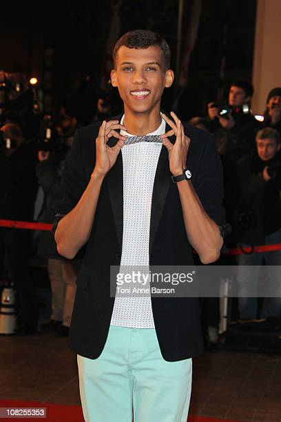 Stromae attends the NRJ Music Awards 2011 on January 22 2011 in Cannes France