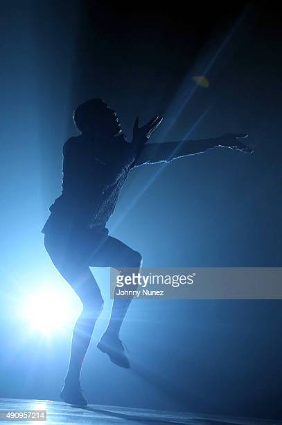 Stromae performs at Madison Square Garden on October 1 in New York City