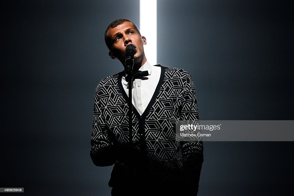 <a gi-track='captionPersonalityLinkClicked' href=/galleries/search?phrase=Stromae&family=editorial&specificpeople=6826786 ng-click='$event.stopPropagation()'>Stromae</a> performs live at Madison Square Garden on October 1, 2015 in New York City.