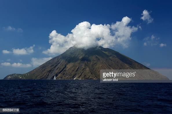 Stromboli island Eolic Islands Sicily Italy