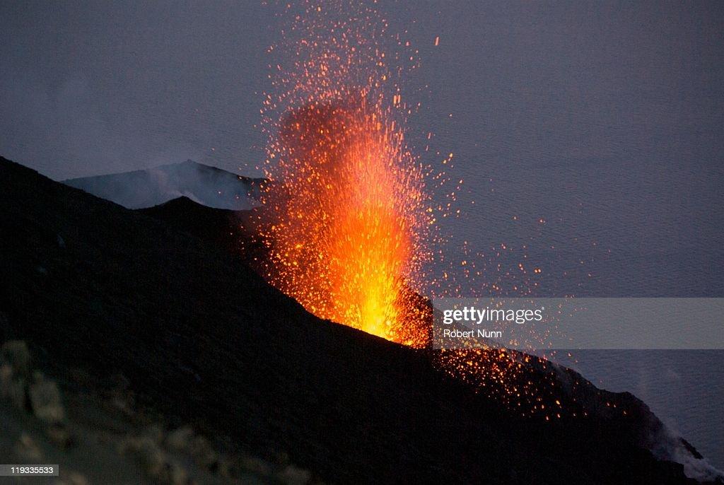 Strombolian Eruptions at Stromboli