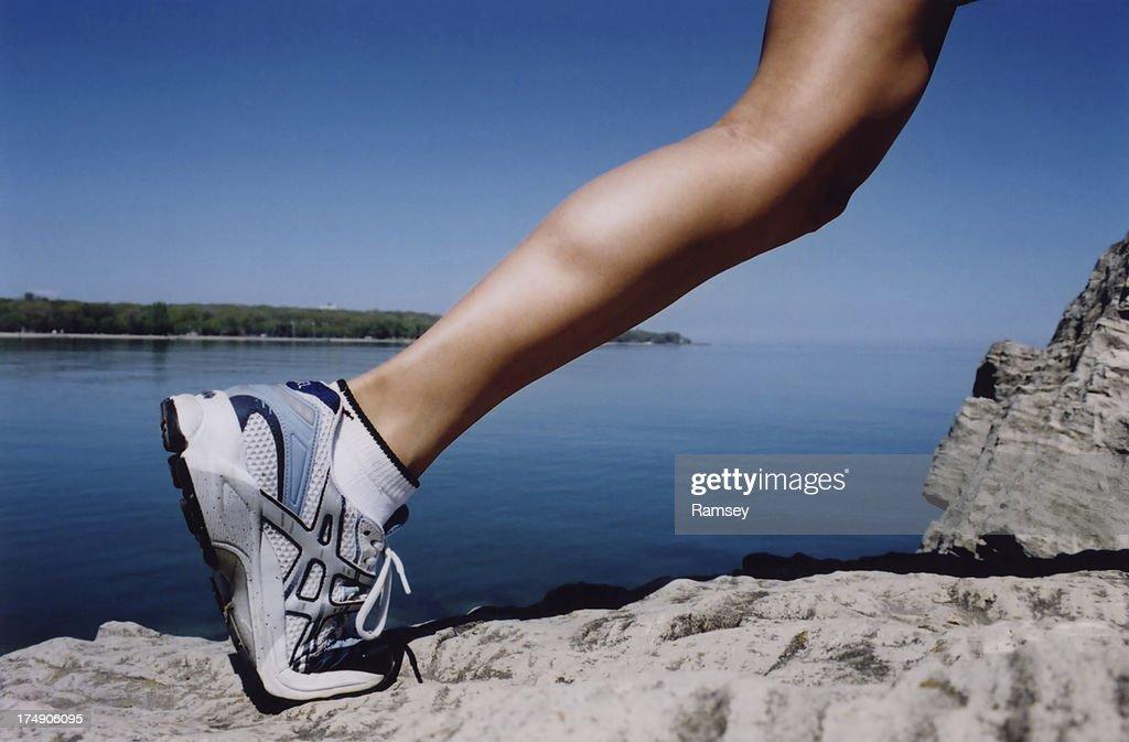 Strong Female Leg
