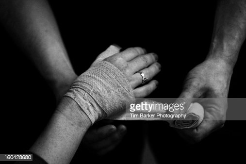 Strong hands : Stock Photo
