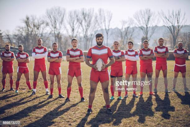 Strong rugby boys