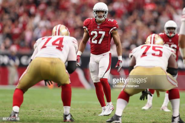 59f213821 ... Strong safety Tyvon Branch of the Arizona Cardinals in action during  the NFL game against the ...