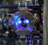 A strontium optical atomic clock is seen at the University of Tokyo on May 17 2005 in Tokyo Japan