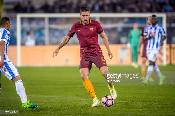 Strootman Kevin during the Italian Serie A football match Pescara vs Roma on April 24 in Pescara Italy
