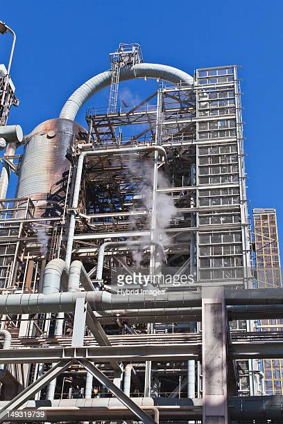 Structure at oil refinery
