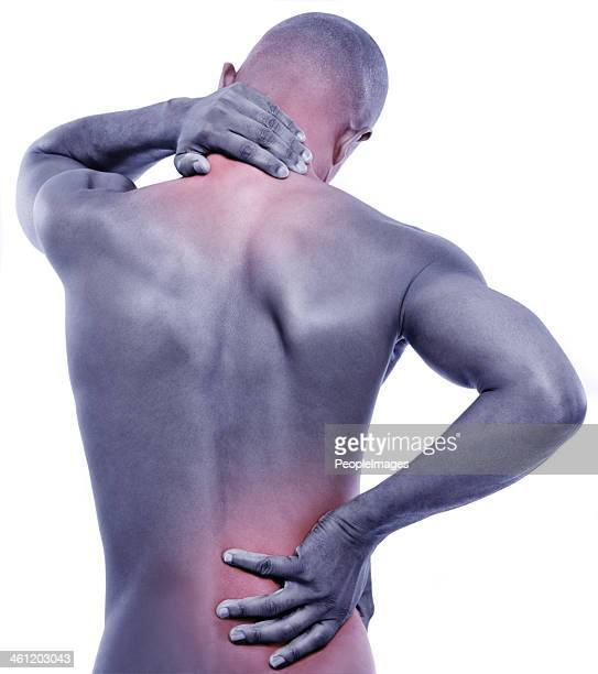 Struggling with pain in the spine