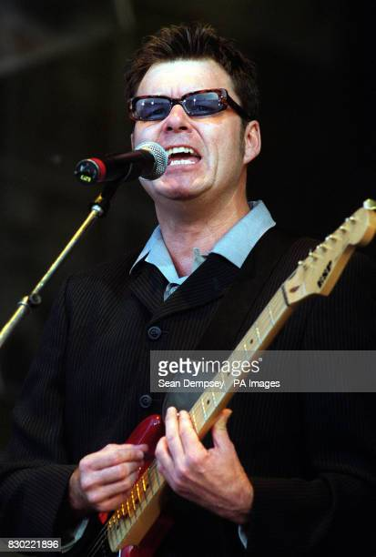 Stuart Adamson of the band Big Country on stage at the Wicked Women Concert in aid of Breast Cancer in London's Hyde Park * It is reported that Big...