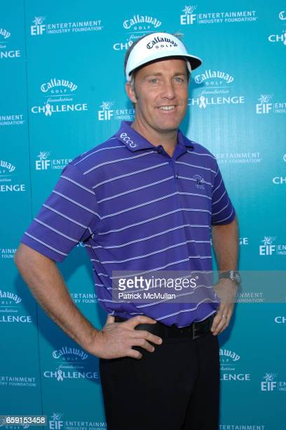 Stuart Appleby attends Callaway Golf Foundation Challenge Benefitting Entertainment Industry Foundation Cancer Research Programs at Riviera Country...