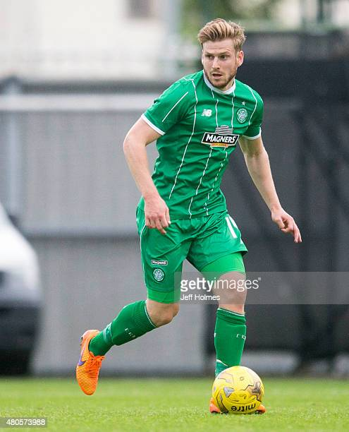 Stuart Armstrong of Celtic at the Pre Season Friendly between Celtic and Real Sociedad at St Mirren Park on July 10th 2015 in Paisley Scotland