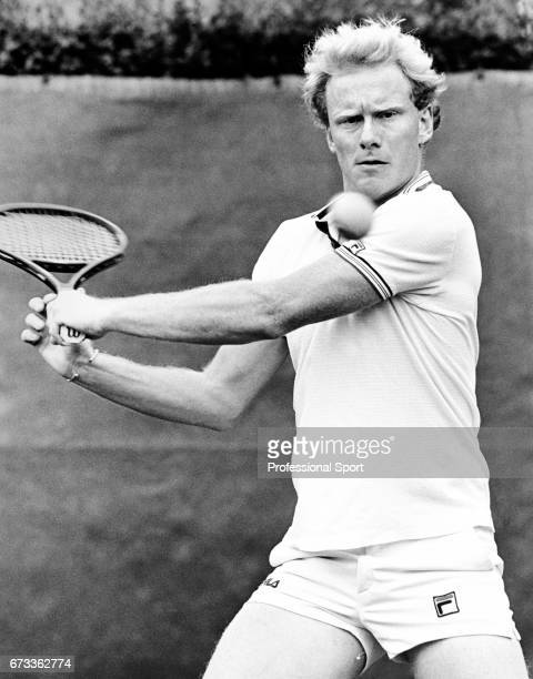 Stuart Bale of Great Britain in action circa May 1986