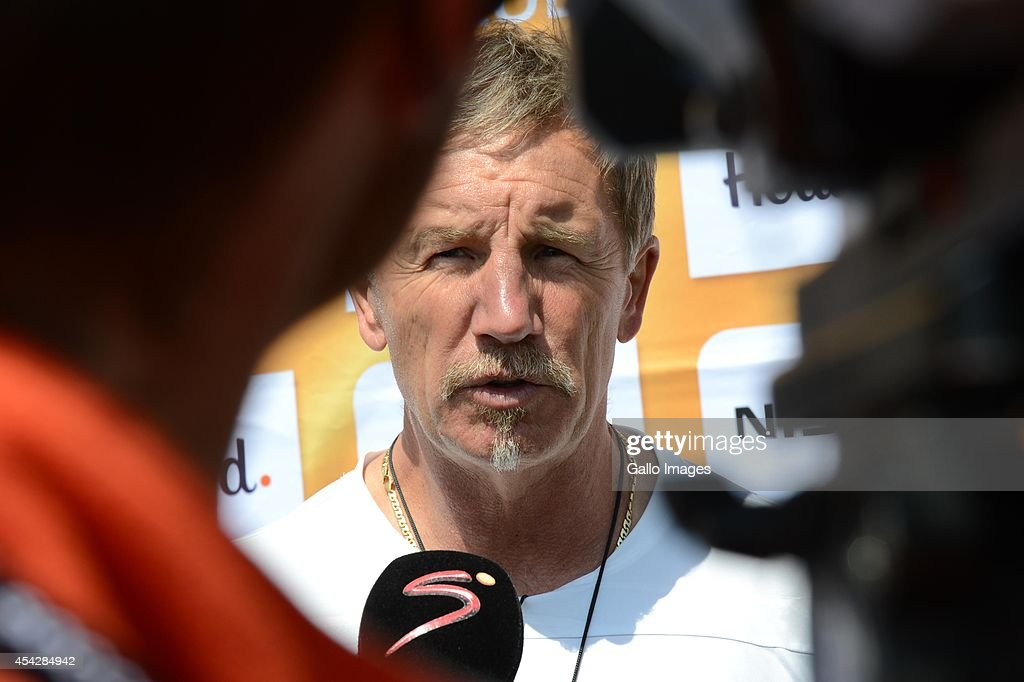 Stuart Baxter during the Kaizer Chiefs media open day at Naturena on August 28 2014 in Johannesburg South Africa