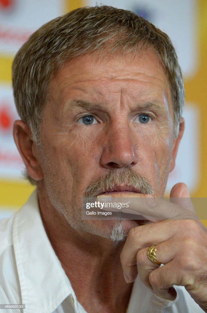 Absa Premiership: Kaizer Chiefs press conference : News Photo
