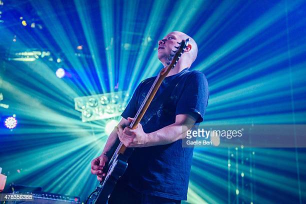 Stuart Braithwaite of Mogwai performs live at The Roundhouse on June 24 2015 in London United Kingdom