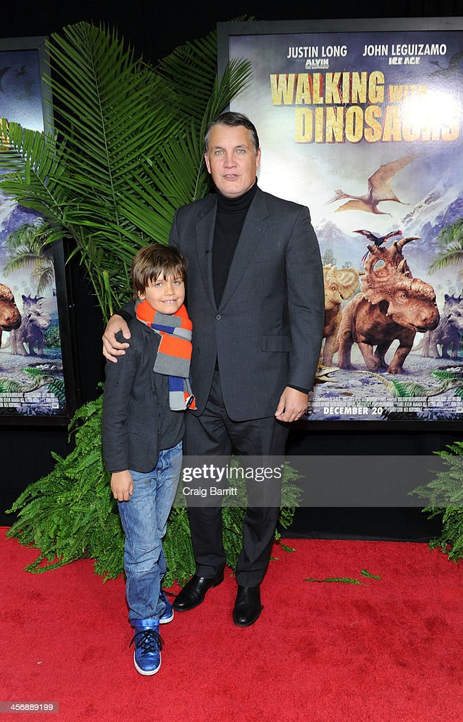 Stuart Ford attends the 'Walking With Dinosaurs' screening at Cinema 1, 2 & 3 on December 15, 2013 in New York City.