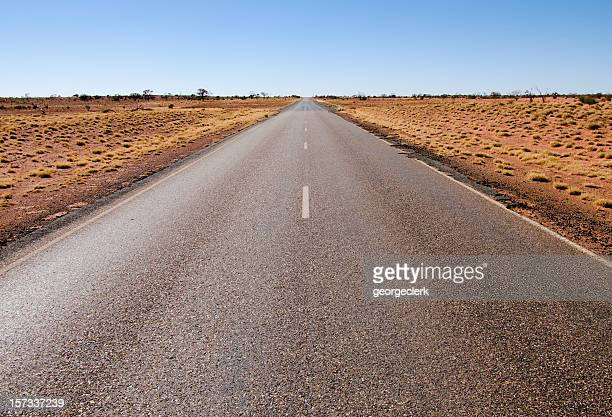 Stuart Highway through the Red Centre