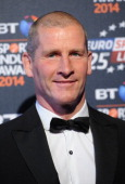 Stuart Lancaster attends the BT Sport Industry Awards at Battersea Evolution on May 8 2014 in London England