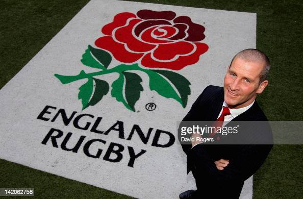 Stuart Lancaster who was appointed today as the England head coach poses at Twickenham Stadium on March 29 2012 in London England