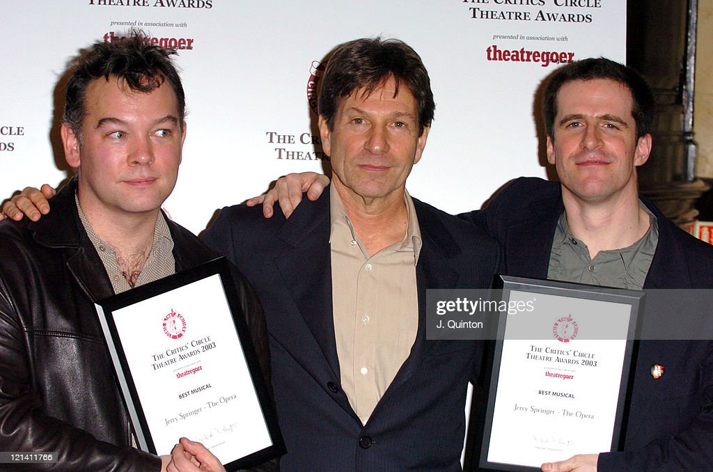 The 2003 Critics Circle Theatre Awards
