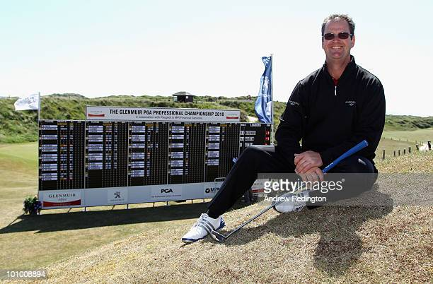Stuart Little of Minchinhampton New Golf Club poses for a photograph after playing in the Glenmuir PGA Professional Championship Regional Qualifier...