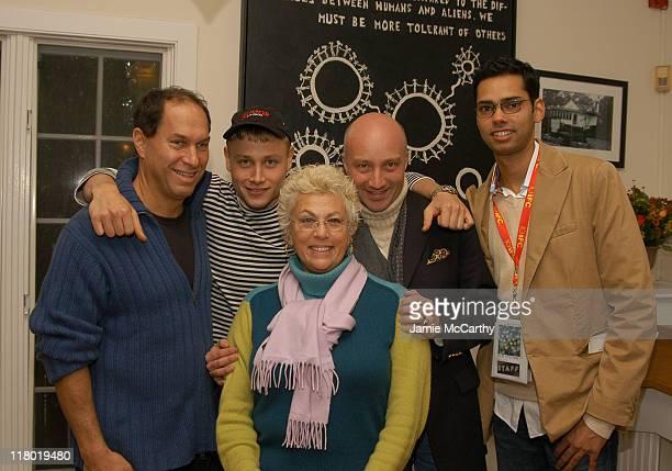 Stuart Match Suna Chairman of Hamptons International Film Festival Max Riemelt Denise KasellExecutive Director of the Hamptons International Film...