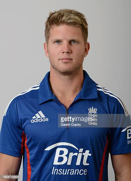 Stuart Meaker of England poses for a portrait on February 4 2013 in Whangarei New Zealand