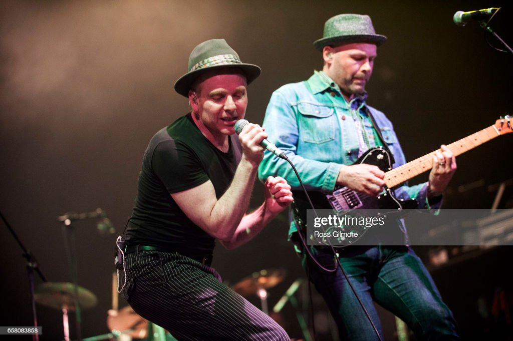 Stuart Murdoch of Belle & Sebastian performs at the O2 Academy at the BBC Radio 6 Music Festival - day three on March 26, 2017 in Glasgow, United Kingdom.