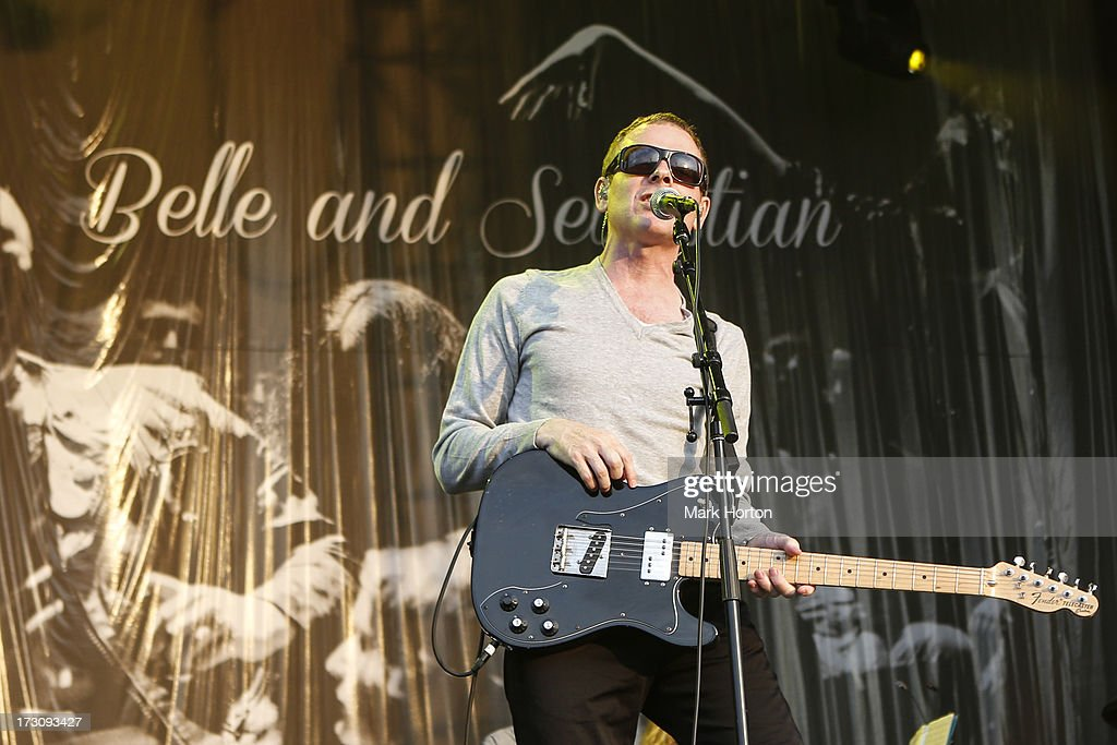 Stuart Murdoch of Belle & Sebastian performs on Day 3 of the RBC Royal Bank Bluesfest on July 6, 2013 in Ottawa, Canada.
