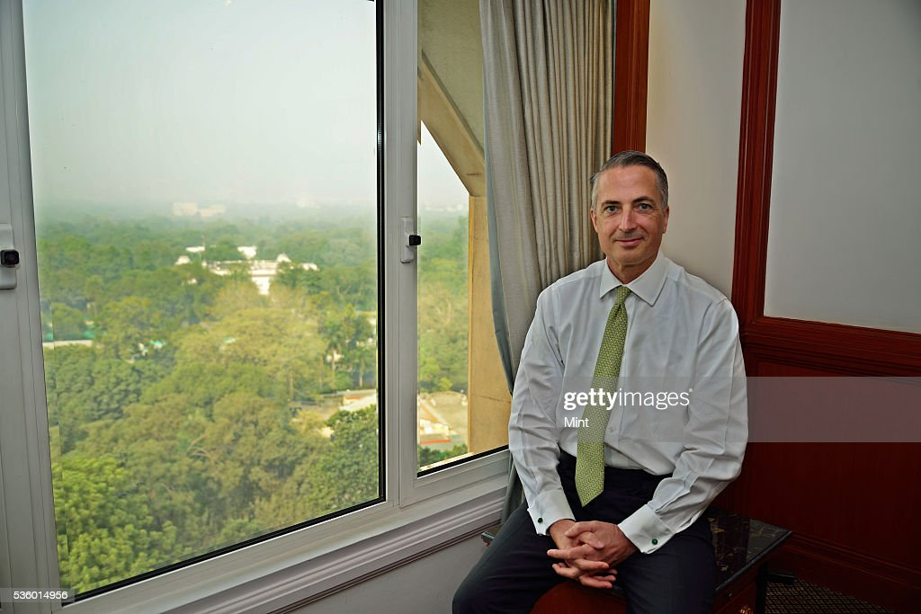 Stuart P Milne, group general manager and chief executive at HSBC India, photographed on December 3, 2015 in New Delhi, India.