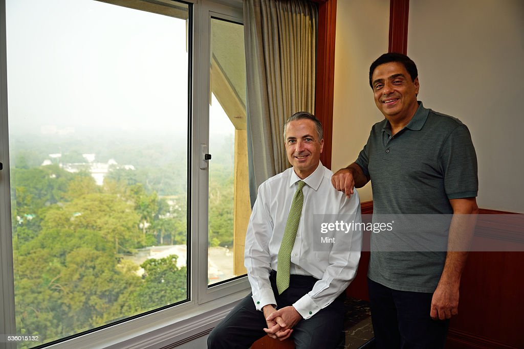 Stuart P Milne, group general manager and chief executive at HSBC India, with Swades Foundation founder and trustee Ronnie Screwvala, photographed on December 3, 2015 in New Delhi, India.