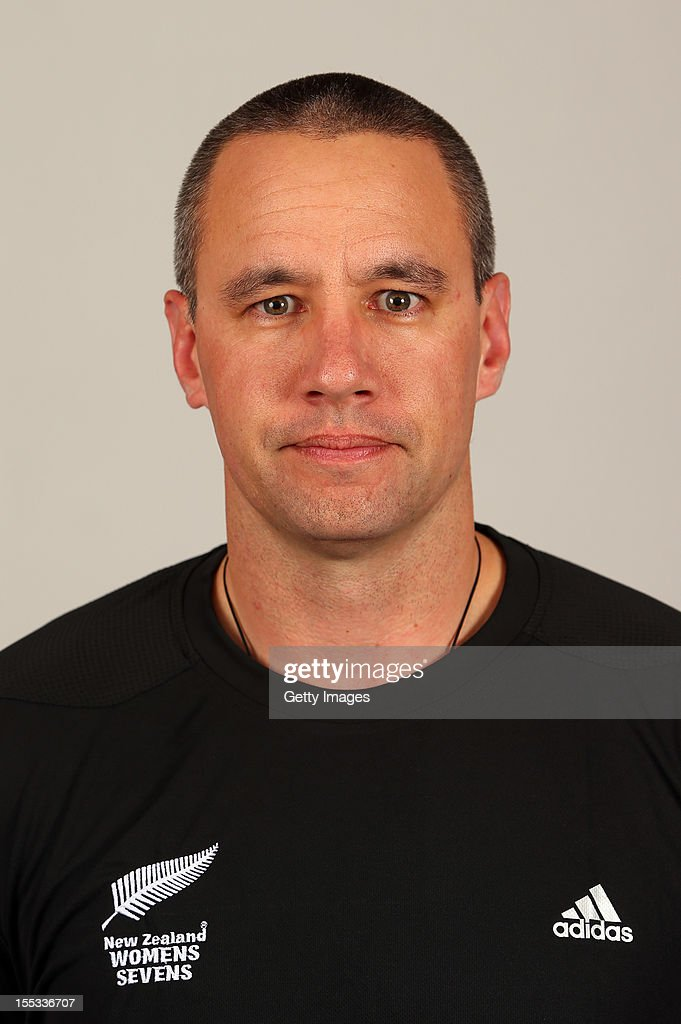 Stuart Ross poses for a headshot during the New Zealand Womens Rugby Sevens headshot session at Pulman Lodge on November 3, 2012 in Auckland, New Zealand.
