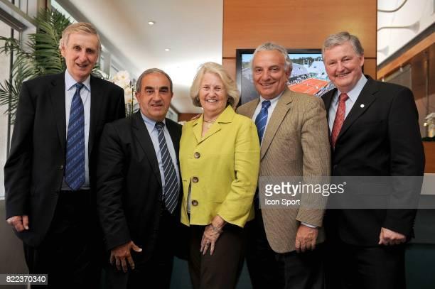 Stuart SMITH / Jean GACHASSIN / Lucy S GARVIN / Ricci BITTI / Steve WOOD rencontre a Roland Garros