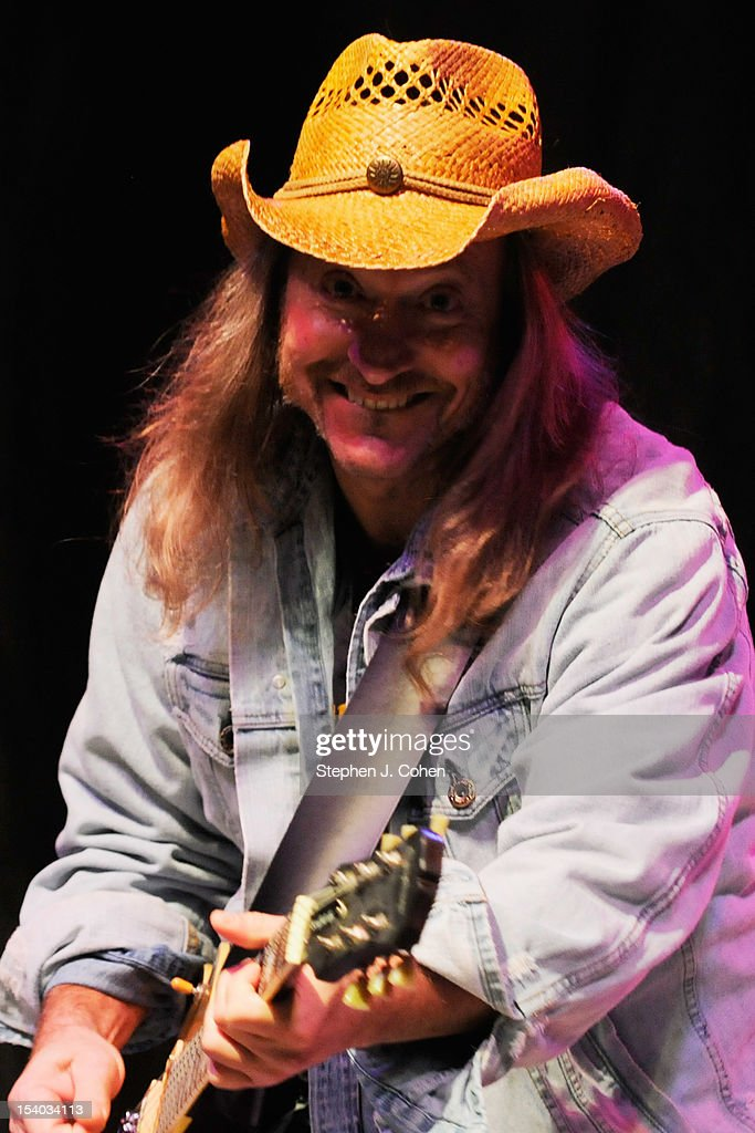 Stuart Swanlund of the Marshall Tucker Band performs at Centre College on October 11 2012 in Danville Kentucky