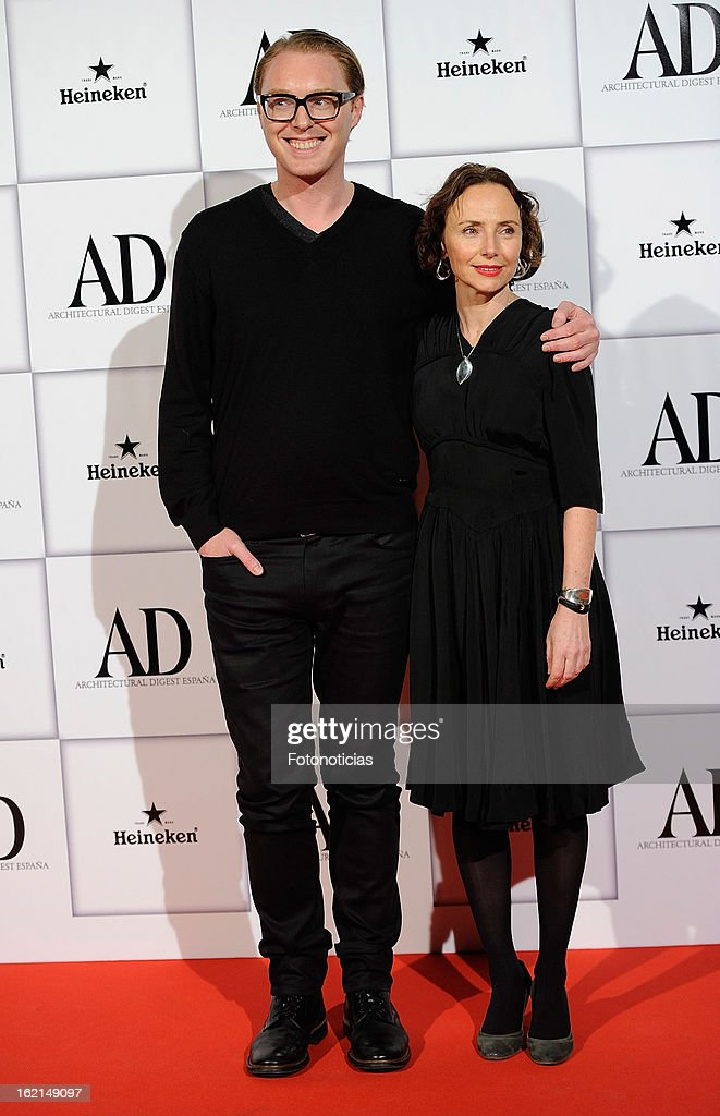 Stuart Vevers (L) and guest attends AD Awards 2013 at the Casino de Madrid on February 19, 2013 in Madrid, Spain.