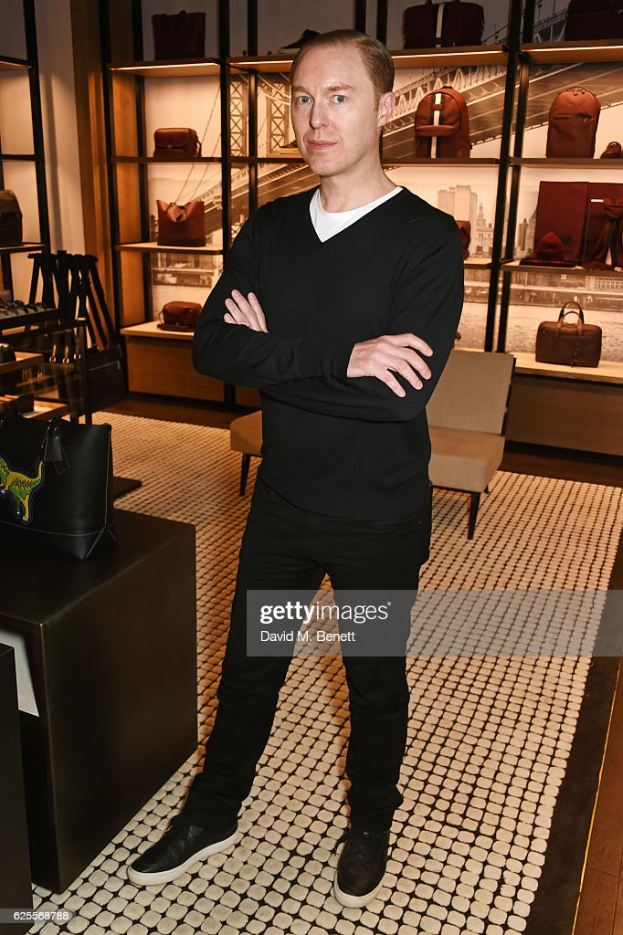 Stuart Vevers, Coach Creative Director, attends the launch of Coach House  Regent Street on