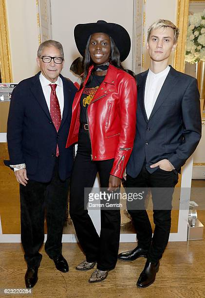 Stuart Weitzman Jenny Bastet and Josh McLellan attend a private dinner hosted by Stuart Weitzman and Gigi Hadid to celebrate the opening of the...