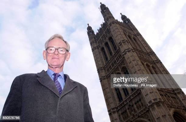 Stuart Wheeler in Westminster this morning after announcing yesterday that he will donate 5 million to the Conservative Party for the forthcoming...