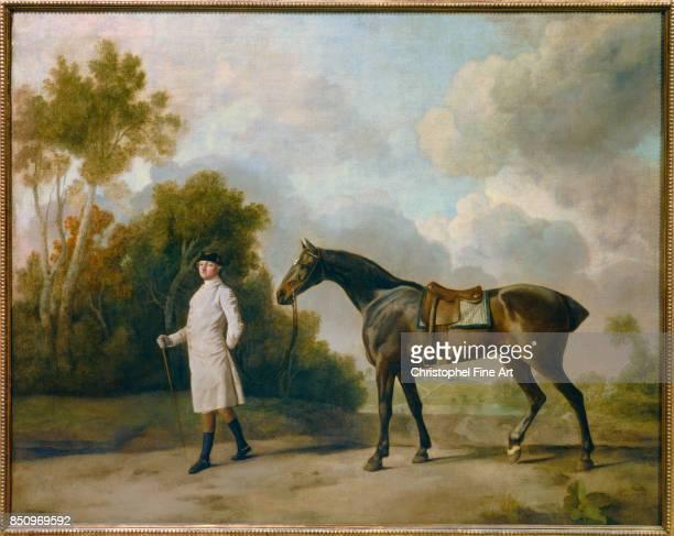 Stubbs George Portrait of Assheton and his Mare Maria Paris Louvre Museum