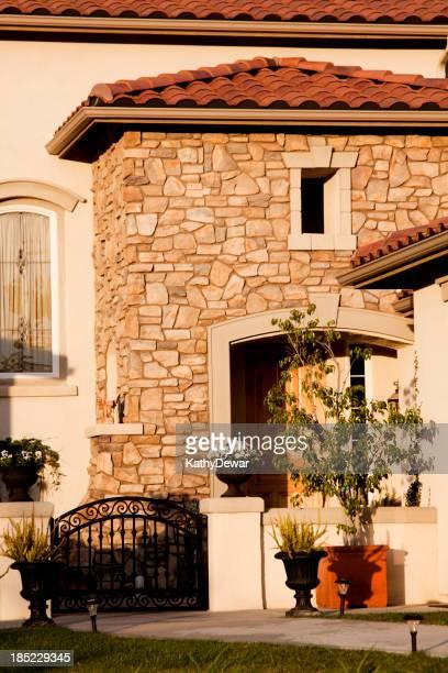 Stuck und Stein Hause – Außenansicht