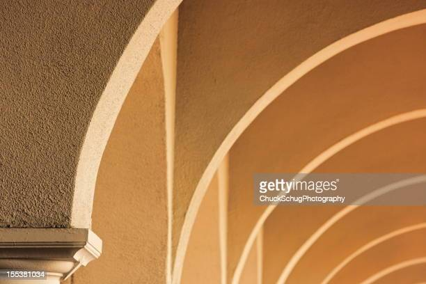 Stucco Architecture Ceiling Arch Pattern