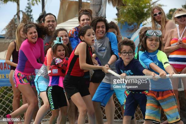 MIDDLE 'Stuck in the Waterpark The Movie' The Diaz family jumps in slides down and wades right into the metaphorical deep end of a family vacation...