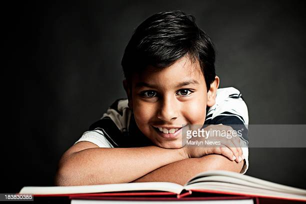 student and his books